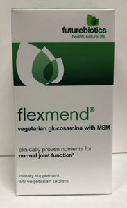Futurebiotics flexmend vegetarian glucosamine with MSM 90Vcaps