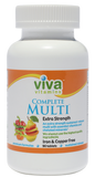 Complete Multi – Extra Strength Iron and Copper Free 90 Tablets