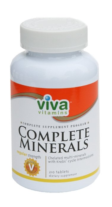 Complete Minerals - Regular Strength (210 tabs)