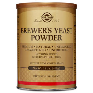 Solgar Brewer's Yeast Powder, 14 oz