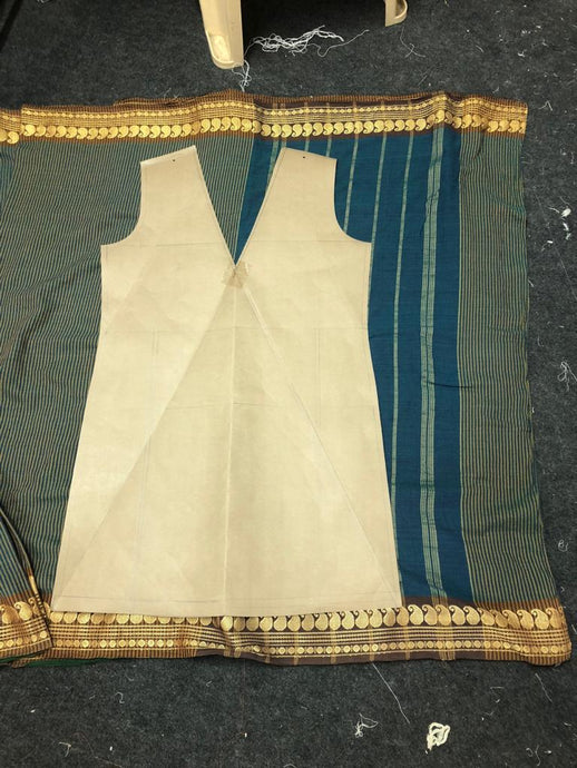 Process: The Madrasi Cotton reSaree Wrap Story