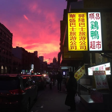 Street in Chinatown, Manhattan