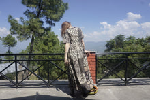 Load image into Gallery viewer, Patchwork Daydress - Blockprints + Recycled Soft Shirting