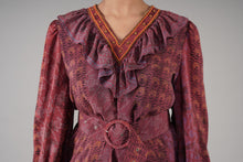Load image into Gallery viewer, Frontier Dress - Royal Violet
