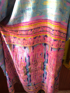4-Way Kaftan Dress - Cotton Candy Paisley