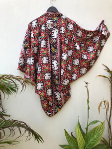 reSaree Cropped Shrug - Elephant Parade