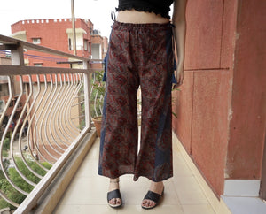 Panacea Pant - Indigo (Side Wheel Print)