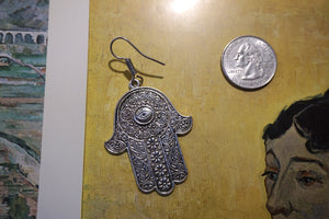 Hamsa Handcrafted Earrings