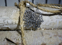 Load image into Gallery viewer, Hamsa Handcrafted Earrings