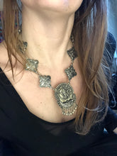 Load image into Gallery viewer, Gunmetal Goddess Necklace