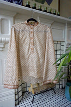 Load image into Gallery viewer, reSaree Boho Blouse - High Tea