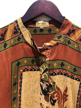 Load image into Gallery viewer, reSaree Boho Blouse - Oasis in Silk