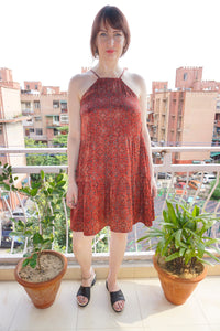 Demeter Dress-Scarlet