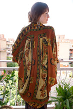 Load image into Gallery viewer, reSaree Shrug - Oasis in Silk