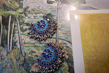 Load image into Gallery viewer, Blue Bell Earrings