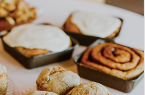 Gluten Free Galaxy Take and Bake Vegan Cinnamon Rolls - Local Only