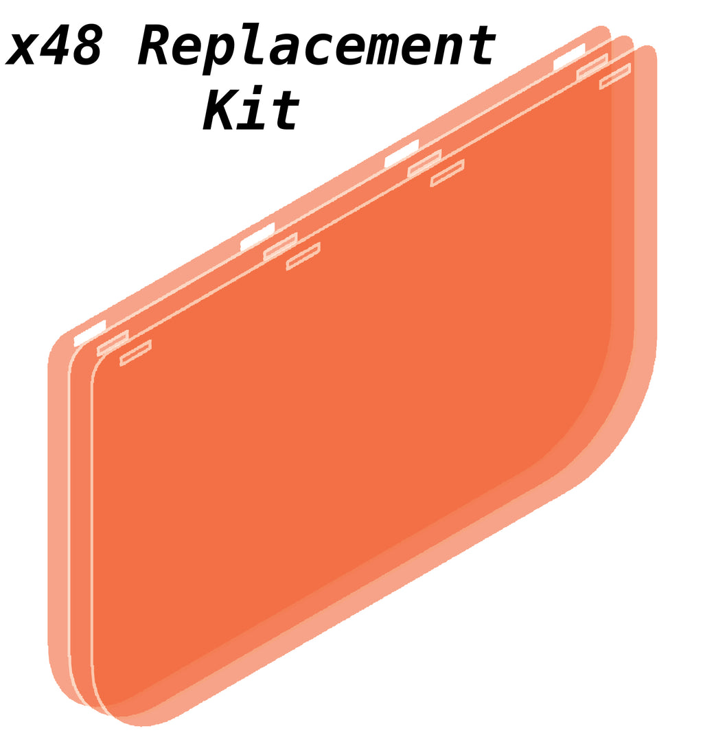 Shield-U - ×48 Replacement Shields