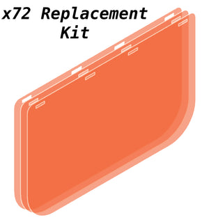 Shield-U - ×72 Replacement Shields