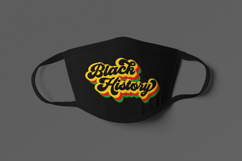 BLACK HISTORY FACE MASK
