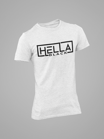 MEN'S HELLA BLACK T-SHIRT