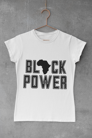 WOMEN'S BLACK POWER T-SHIRT