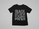 YOUTH SPARKLY BLM T-SHIRT