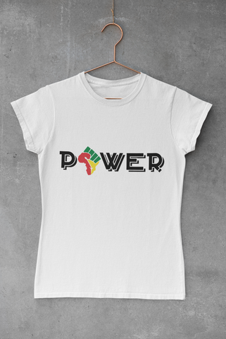 WOMEN'S AFRICAN POWER T-SHIRT