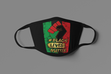 FIST BLM MASK