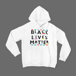 UNISEX BLM PATTERNS AND SHAPES HOODIE