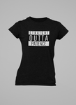 WOMEN'S STRAIGHT OUTTA PATIENCE T-SHIRT