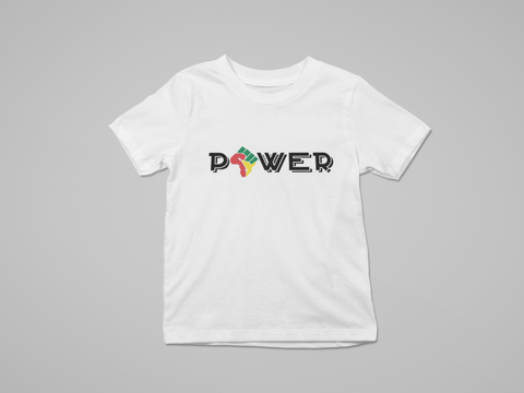 YOUTH AFRICAN POWER T-SHIRT