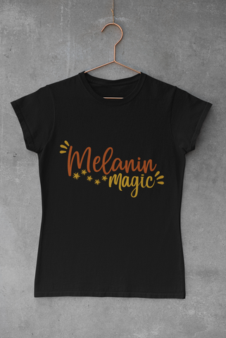 WOMEN'S MELANIN MAGIC T-SHIRT