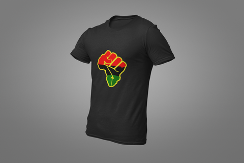 MEN'S AFRICAN FIST T-SHIRT