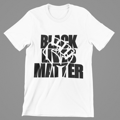 MEN'S BLM FIGHT THE POWER T-SHIRT