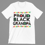 MEN'S PROUD BLK GRANDPA T-SHIRT