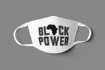BLACK POWER FACE MASK