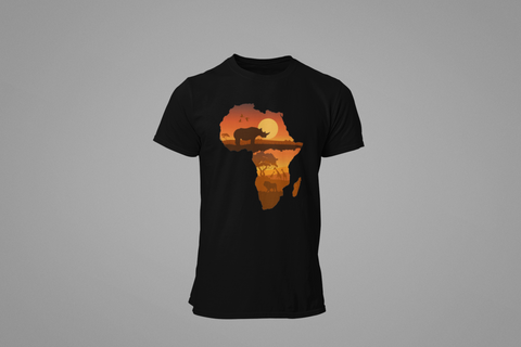 MEN'S AFRICAN SUNSET T-SHIRT