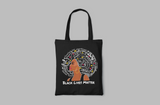 BLM AFRO QUEEN TOTE BAG
