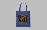 RGB BLACK LIVES MATTER TOTE BAG