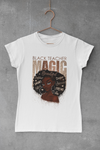 WOMEN'S BLACK TEACHER MAGIC T-SHIRT