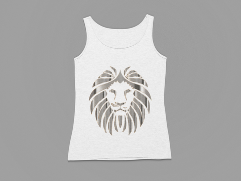 WOMEN'S SILVER LION TANK TOP