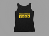 WOMEN'S APOLOGETICALLY BLK TANK TOP