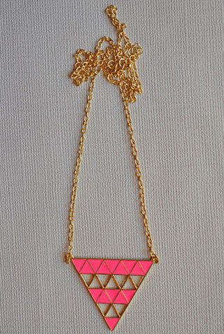 Gatsby Necklace Pink