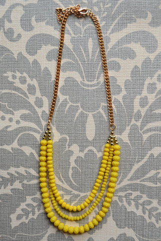 Sweet Dream Necklace Yellow