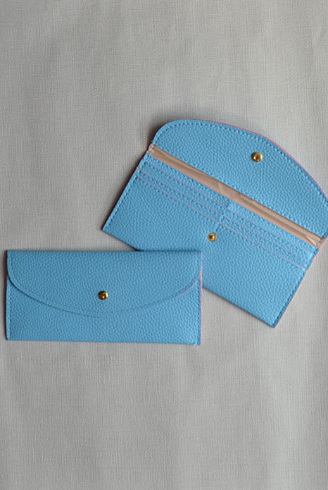 Wallet Baby Blue