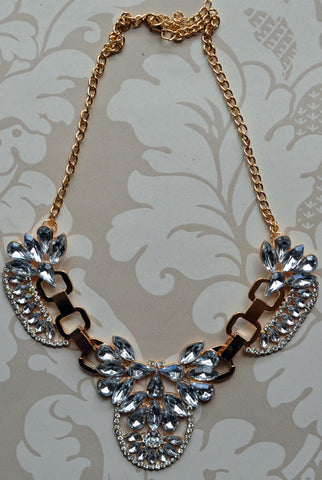 Bella Donna Necklace Crystal