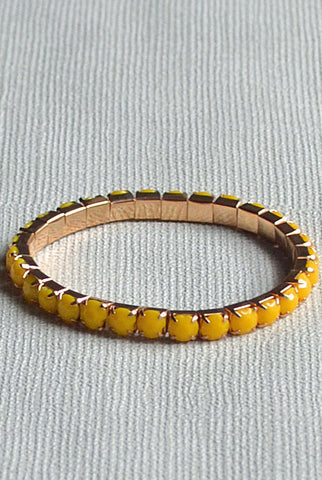 Diamonte  Bracelet Yellow
