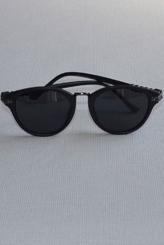 Cat Eye Sunglasses Matt Black
