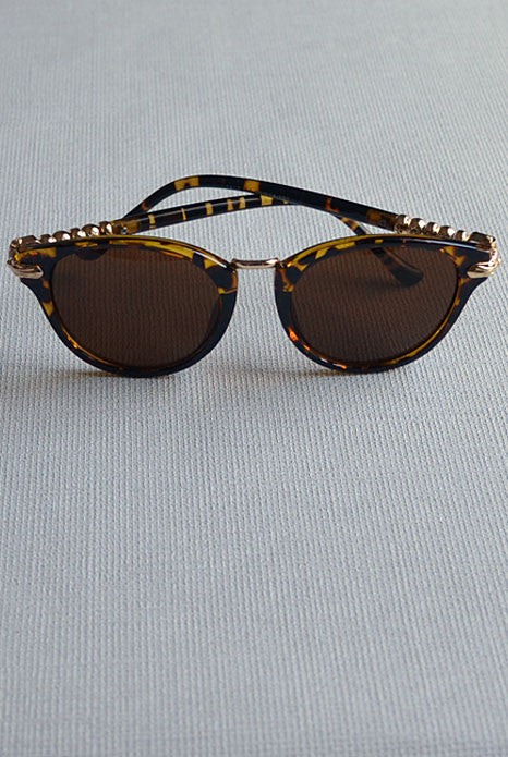 Cat Eye Sunglasses Leopard