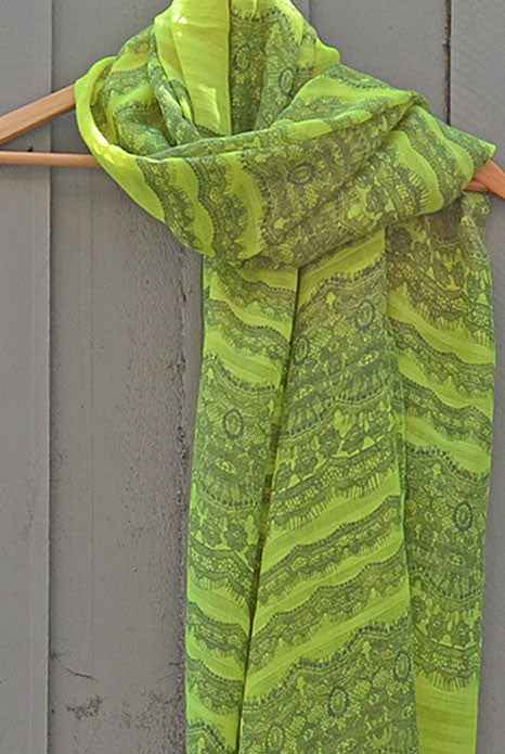Scarf Neon Yellow